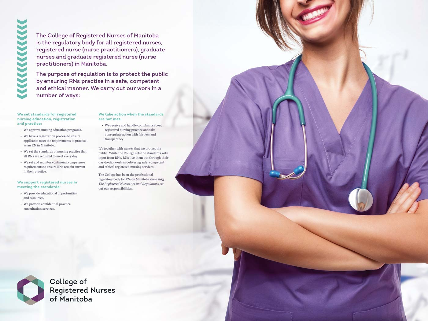 Inside the College of Registered Nurses of Manitoba annual report